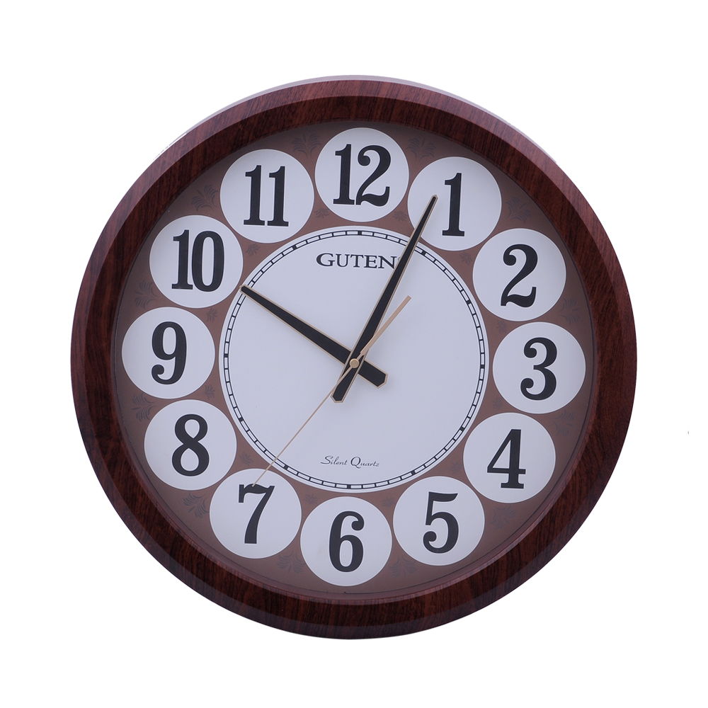 cheap plastic round wall clock gd837 1 in wall clocks from