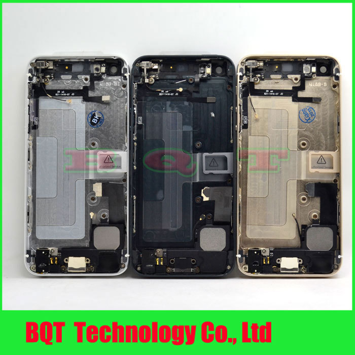 Vip Price:For iphone 5 5G back cover housing with flex Complete Full Middle Frame Chassis Housing Bezel Assembly Free shipping(China (Mainland))
