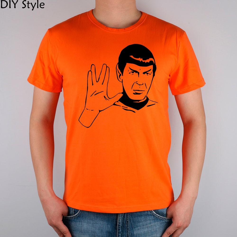 LIVE LONG AND PROSPER SPOCK STAR TREK men short sleeve T-shirt new arrival Fashion Brand t shirt for men  HTB1y2XIMpXXXXbBXXXXq6xXFXXXD