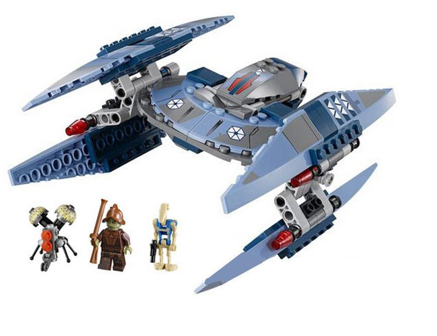 Shen Yuan Star Wars Series Vulture Droid Buzz Pilot Battle Droid Neimoidian Building Blocks Minifigures Toys Compatible Legoe(China (Mainland))
