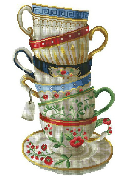 Coffee cup diy diamond painting 3d cross stitch diamond rhinestone pasted painting crystal resin diamond full rhinestone