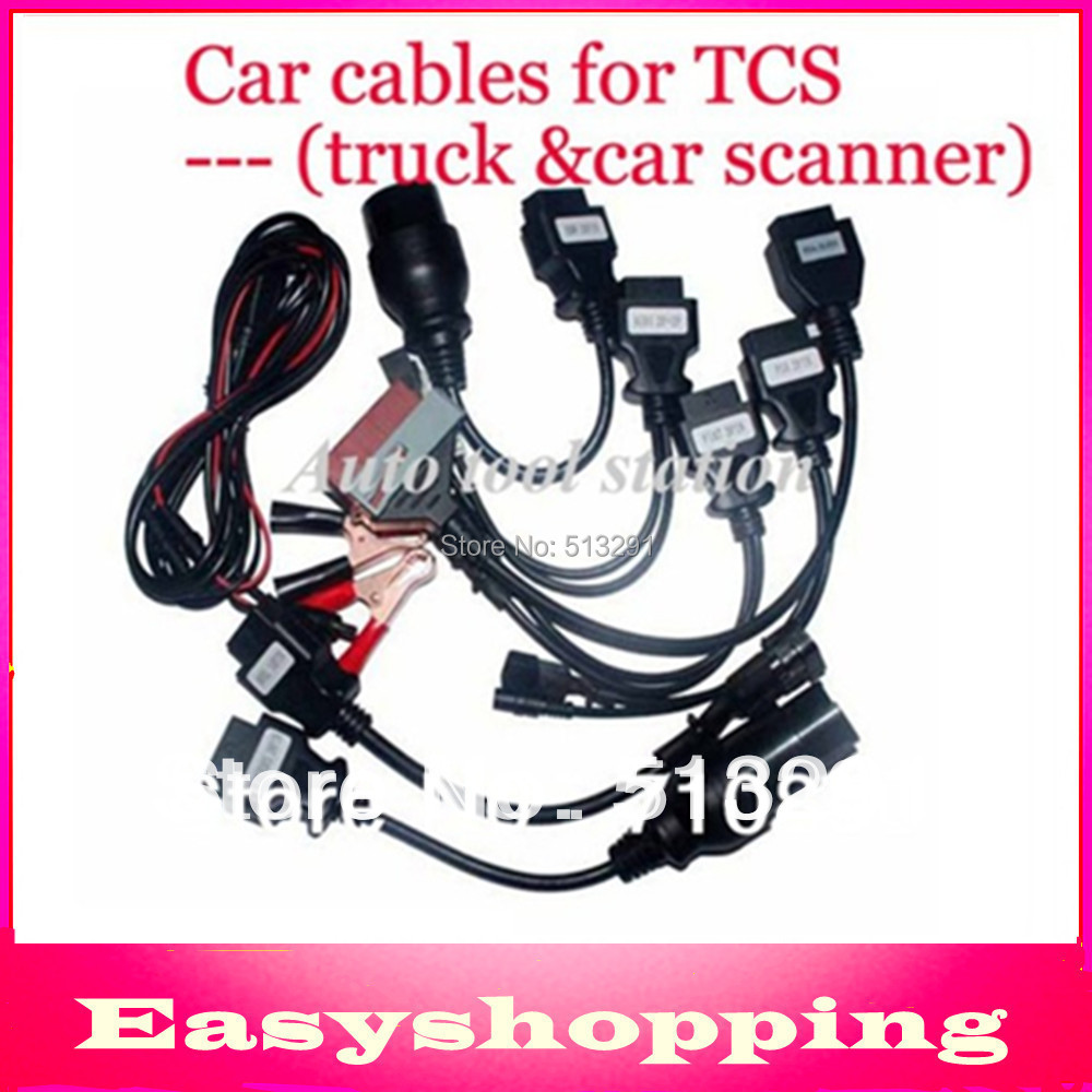 2015 Car Cables full set CDP Plus Pro Multi-Brand Cars OBDII Connector Diagnostic Cable Scanner