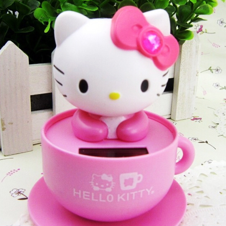 Doll With Cat Head Solar Doll kt Cat Coffee Cup