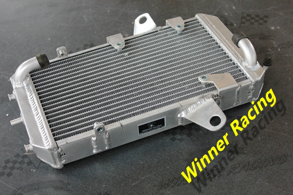 Atv parts accessories for motorcycle radiator replacement 40mm 2 Rows Aluminum Alloy Radiator For CAN AM