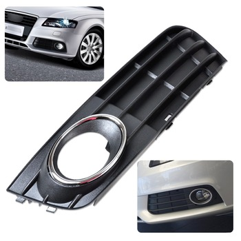 8K0807681A01C New High Quality ABS Plastic Front Left Bumper Fog Light Lamp Cover Grille For Audi A4 B8 2008 2009 2010 2011 2012