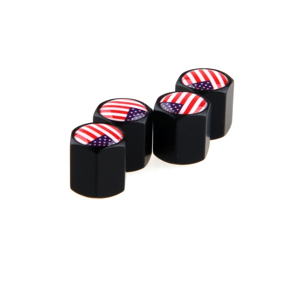 -94% OFF SD 4pcs/Set Car Auto Wheel Tire Valves Caps with Key Ring Anti-theft Russia UK US Italy France German Flag(China (Mainland))
