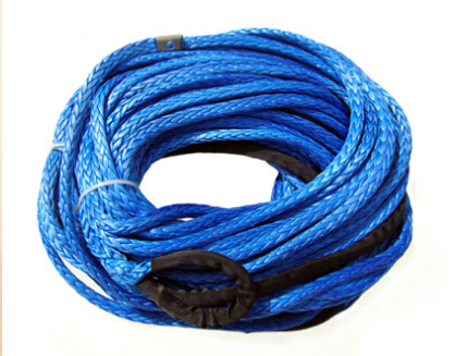12mm x 30meters synthetic winch line grey color for offroad/4x4/4wd/UTV(China (Mainland))