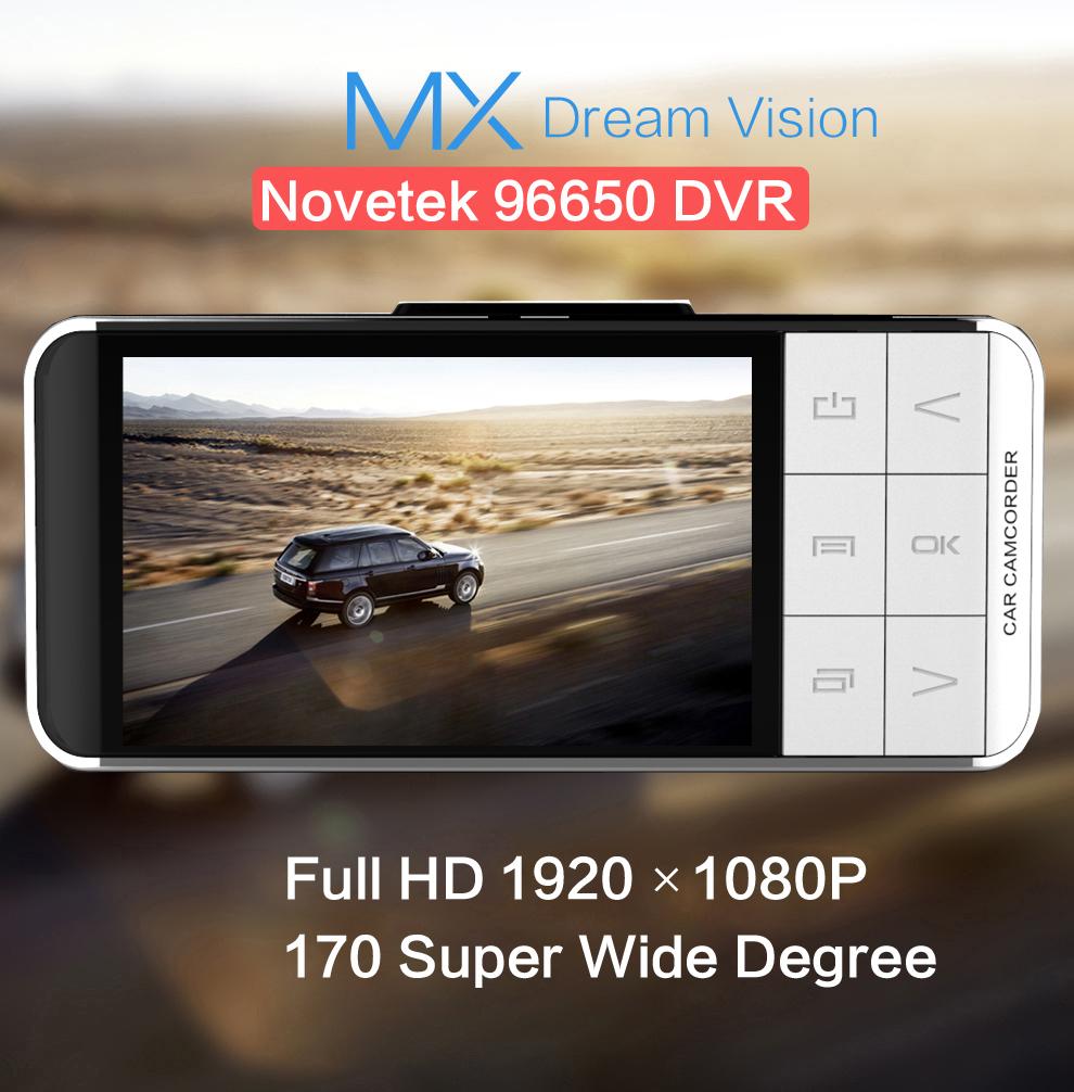 Anytek AT66 Car Camera Novatek 96650 WDR Video Recorder 1920x1080 DVR G-sensor Registrator Mini Camcorder External GPS Tracker(China (Mainland))