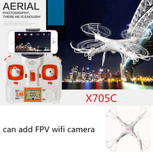 FPV DRON MJX X705C RC Drone Wifi RTF Quadcopter RC Helicopter OR Drone with camera HD Professional Drones vs X5SW MJX X400 X600