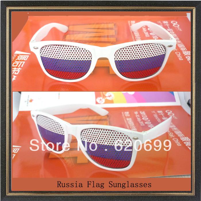 Russia sunglasses Promotion printed lens glasses Pinhole GlassesTop Quality Logo Printed Custom Sticker Logo Sunglass(China (Mainland))
