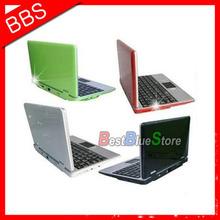 "7"" Mini netbook Notebook Laptop WIFI Windows CE 4GB HD +drop shipping(China (Mainland))"