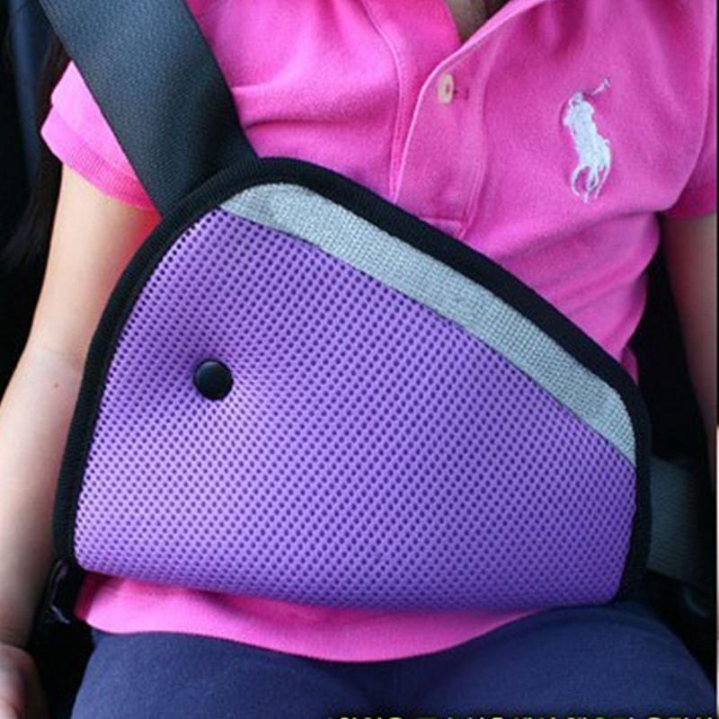 Triangle Car Safety Belt Adjust For Child, Baby, Kids Safety Belt Protector Adjuster, Seat Belt Cover, Shoulder Harness Strap