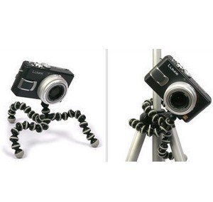 Super Mini Flexible Camera Tripod Gorilla Pod + free shipping(China (Mainland))