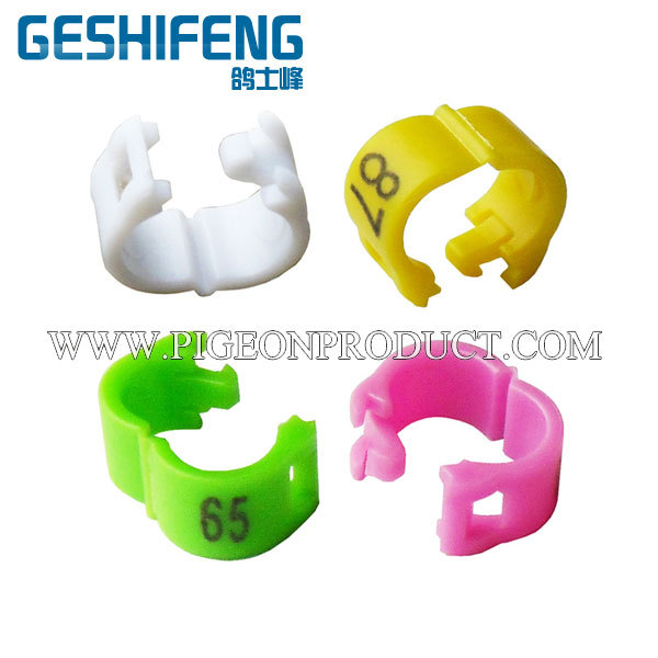 15000pc 5mm Plastic clip Pigeon Ring 6 colors 1-100 5000pc without serial number - Dongguan Dalang Geshifeng Hardware Products Factory store