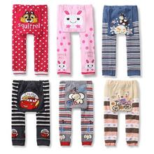 Pattern Printed Boy Girls Kids Pant Baby Toddler Cotton Pant PP Trousers Bottom