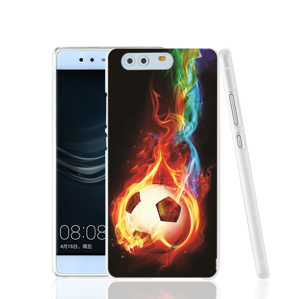 16081 Football colorful fire cell phone Cover Case for huawei Ascend P7 P8 P9 lite Maimang G8(China (Mainland))