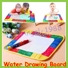 2014 Baby 19 x 29cm Water Drawing Toys Mat&1 Magic Pen/Water Board Play Learning & Education+ - U-Angel-1988 Trade Co.,Ltd store