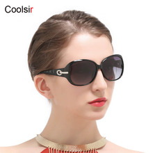 Coolsir Brand Women Polarized Sunglasses High Quality Driving Sun Glasses UV 400 Protection Female Fashion Elegant Sunglass