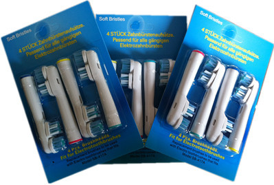 4800 pcs Free Fast Shipping Replacement Standard SB-417A electronic toothbrush Heads 4pcs=1pack  High Quality<br><br>Aliexpress