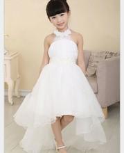 Heißer Verkauf Blumenmädchenkleider Für Hochzeiten Elegante Schleppkleid 3-12 Alter Designer Blumenmädchen Kleider Für Kinder 2015 Kostenloser Versand(China (Mainland))