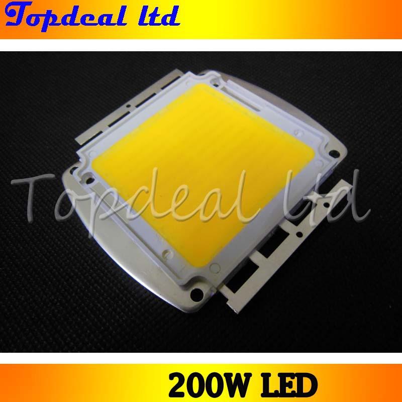 200W Super Bright Warm White/ Cool White High Power LED Light 200 Watt 20000 Lumens 32-36V DC(China (Mainland))