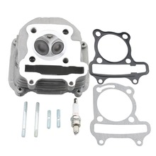 GOOFIT Cylinder Head 2.5″ tall 150cc GY6 Engine with Gasket part MOTORCYCLE ACCESSORY Group-20