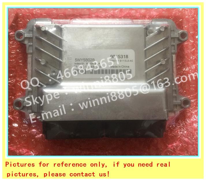 Фотография For Wuling car engine computer board/ECU/ Electronic Control Unit/Car PC/ 5WY5B02B 9015318 /Trip computer
