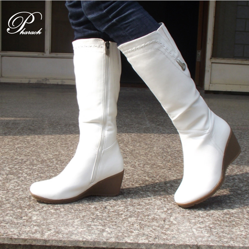 white leather boots boot hto
