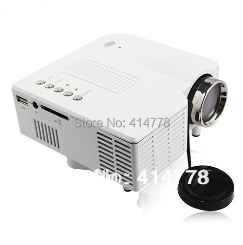Newest version mini hd led pico projector support 1080p for Hd pico projector
