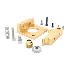 Hot Right Hand Block 3D Printer MK8 Extruder Aluminum Frame Block DIY Kit Makerbot Dedicated Single Nozzle Head