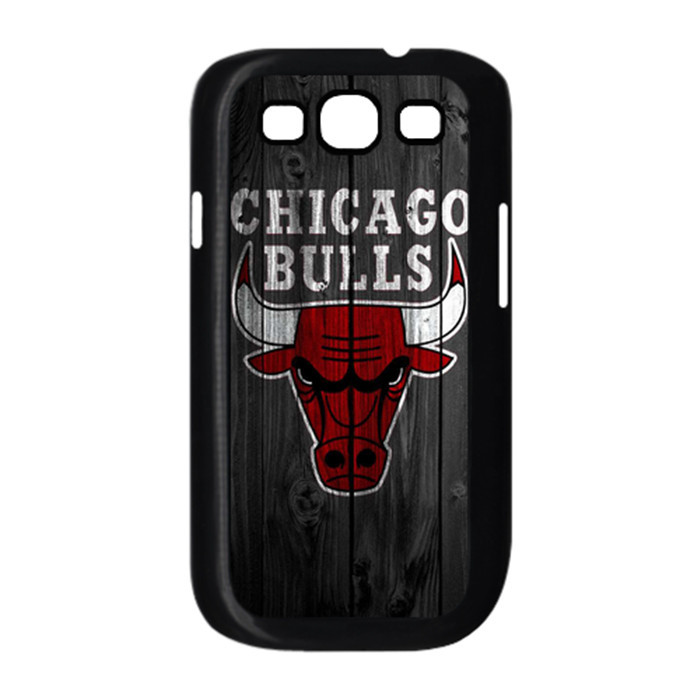 Chicago Bulls Durable Cell Phones Cover Case for Samsung S3 With One Gift Free Shipped(China (Mainland))