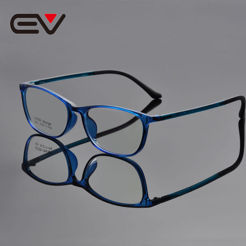 Discount Price 2016 Fashion Men Light Weight Acetate Oval Eyeglasses Frames Women Comfortable Optical Spectacle 5 Color EV1348(China (Mainland))