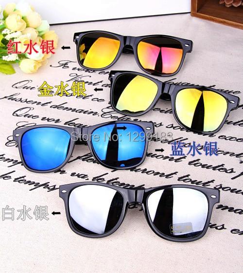 Nouveau style fashional lunettes de soleil color miroir for Objectif miroir