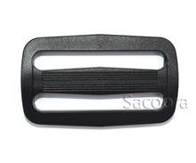 """10pcs 2"""" Plastic Slider Tri-Glide Adjust Tri-ring Buckles Backpack Straps Webbing 50mm Black(China (Mainland))"""