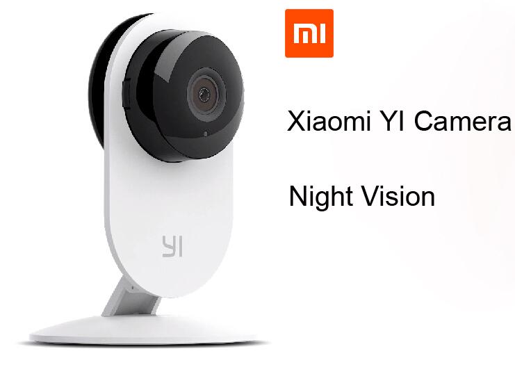 Xiaomi YI IP Camera Wireless Wifi HD 720P Infrared Night Vision For Smart Home CCTV Security Xiaomi Mi Webcam Ants Camera(China (Mainland))
