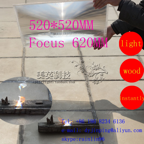 520*520mmF620mm PMMA Standard Fresnel Lens,solar concentrator lens,Customized Sizes are Accepted<br><br>Aliexpress
