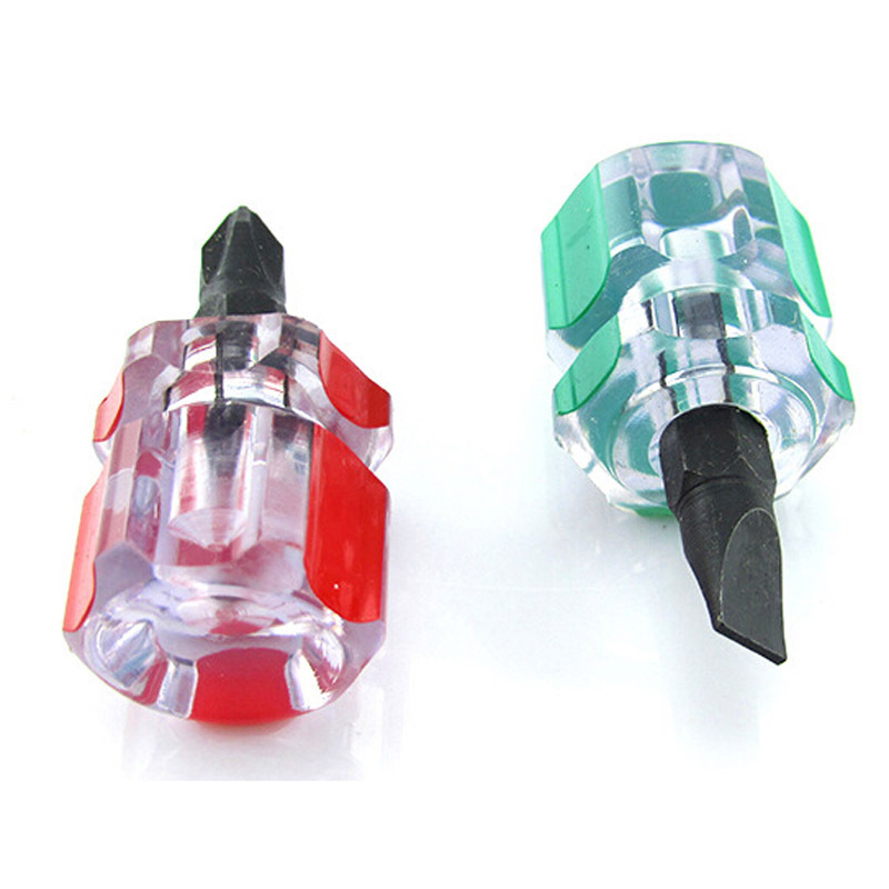 Puscard Phillips Screwdriver Mini Screwdriver Short Small Split Fender Tools Free Shipping&Wholesale(China (Mainland))