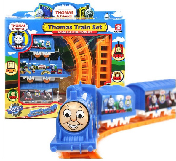 tomas electric track train set, Baby children's early educational toys Small splicing rail set - Easy Buy Department Store store