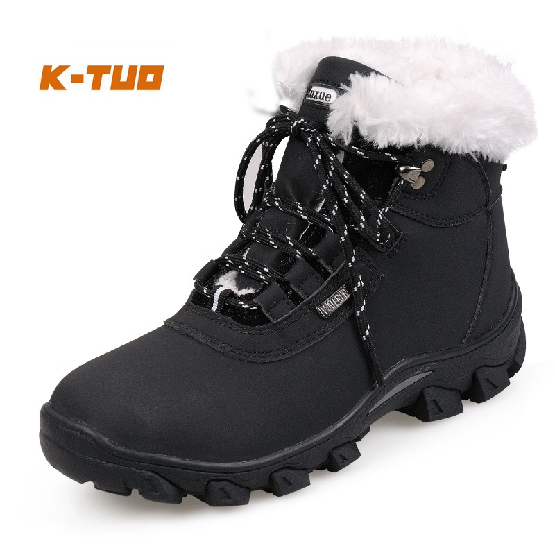 K-TUO Winter Waterproof Hiking Shoes Women Climbing Mountain Outdoor Sport Boots Non-Slip Breathable Hiking Sneakers KT-11768(China (Mainland))