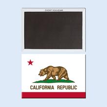 Golden state, decoración del hogar de California State bandera imán 002(China (Mainland))