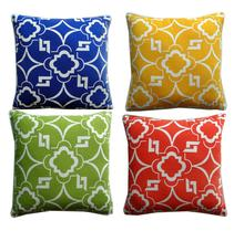 American geometry polyester cotton pillow cushion