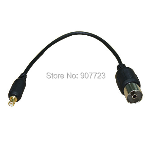 Rf tv antenne mcx tv c ble adaptateur pour antenne usb tnt dvb t tv tuner dans connecteurs de - Cable antenne tnt ...