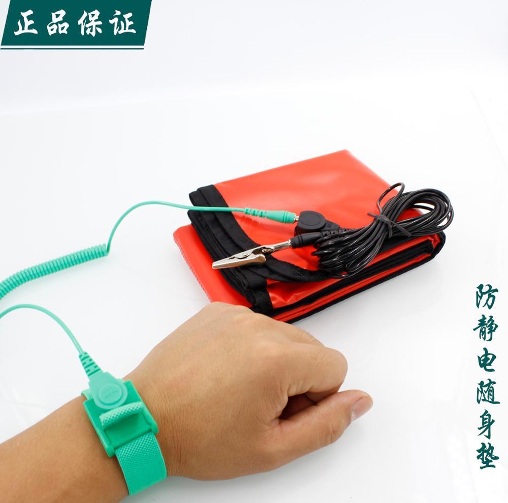 Taiwan Bao Gong anti static work cloth with socket ground wire 8PK-AS07-1 anti-static mat mat(China (Mainland))