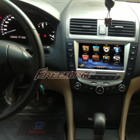 car dvd player gps navigation for honda accord 7 2003 2007 EURO car Stereo Radio dual