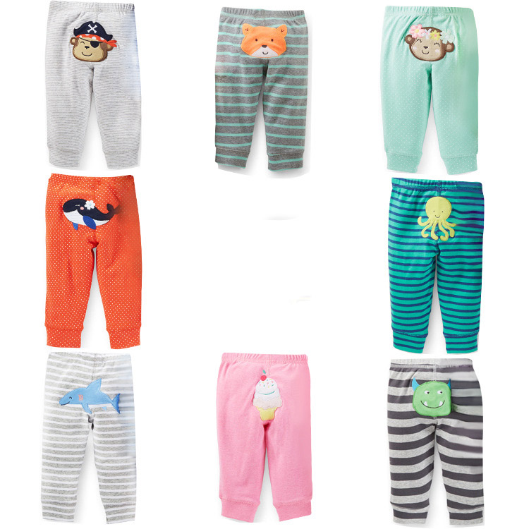 4pieces/lot New Arrival Baby Pants Cotton Boys Girls Infant Busha Baby Harem Pants Baby Trousers 0-24M(China (Mainland))