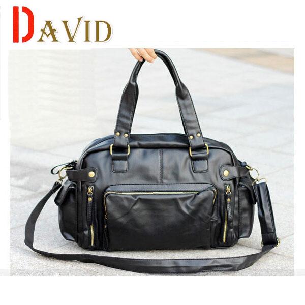 2015 new european and american fashion men messenger bags fashion travel shoulder bag black mens leather briefcase vintage V2G55<br><br>Aliexpress