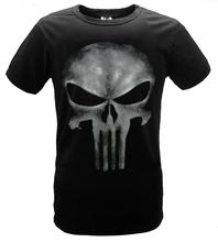 The Punisher No Sweat Skull Logo Men Adult T-shirt Marvel Comics Seal team shirt