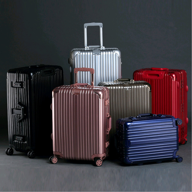 29 INCH 20242629# Rod magnesium alloy, aluminum frame, travelling case, fashion, metal, angle, check box, male, female, un