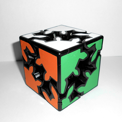 KuaiShouZhi 2x2x2 57mm Gear Magic Cube Speed Puzzle Cubes Educational Toy Special Toys Birthday Gift(China (Mainland))
