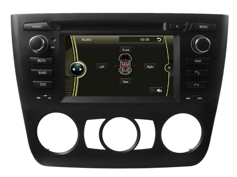 For E81/82/87/88 1 series 2004-2012 MTK ARM 11 project with 800 MHz frequency processor Car radio gps with optional TMC/TV(China (Mainland))